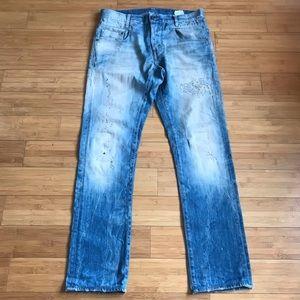 G-Star Men's new radar slim jeans size 33 X 31